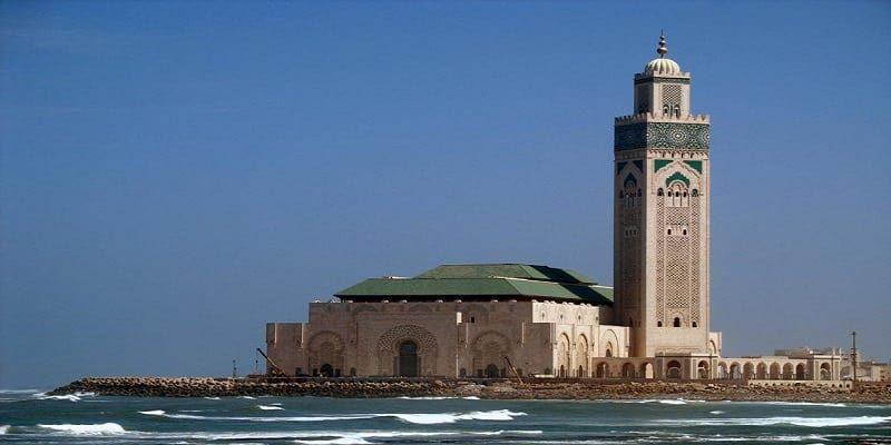 Casablanca & mosque Hassan II
